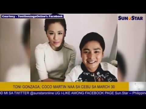 Toni Gonzaga, Coco Martin naa sa Cebu sa March 30