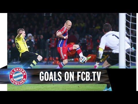 FC Bayern vs. Borussia Dortmund | DFB-Pokalfinale | Die Tore auf FCB.tv