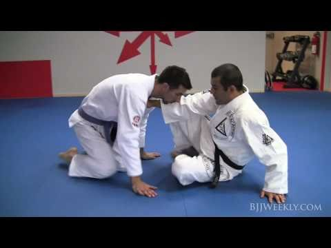 Gracie Jiu Jitsu - Ryron Gracie - Open Guard Loop Choke Image 1