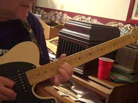 Telecaster with some bluegrass influence