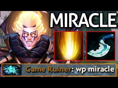 Miracle- Dota 2 [Invoker] Show Skill Time 7.06