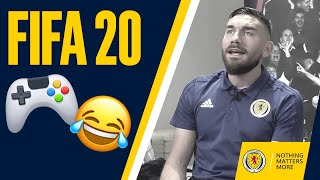 FIFA 20 | Andy Robertson & Robert Snodgrass v Stephen O'Donnell & Greg Taylor