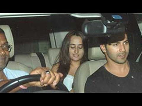 Snapped: Varun Dhawan Makes Silent Exit With His Alleged Girlfriend Natasha Dalal