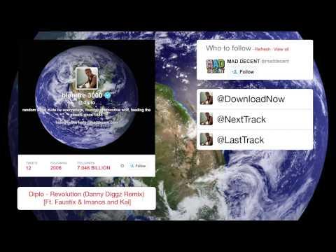 Diplo - Revolution (danny Diggz Remix) [ft. Faustix & Imanos And Kai] video