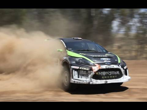 Tanner Foust, Ken Block, Brian Deegan - X-Games Practice Video