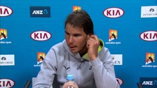 Rafael Nadal press conference (4R) - Australian Open 2015