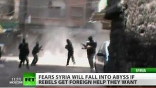 Syria 'friends' fuel murder with promises of weapons for rebels
