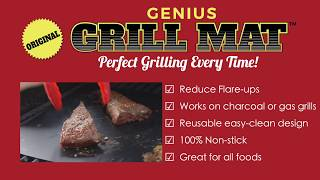 Commercial Video   Genius Grill Mat