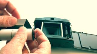 How to 3: Film einlegen in die LOMO LCA 120