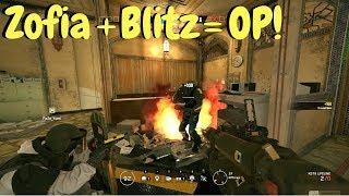 Zofia/Blitz Trolling! - Rainbow Six Siege