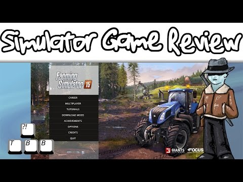 Simulator Game Review - Farming Simulator 15