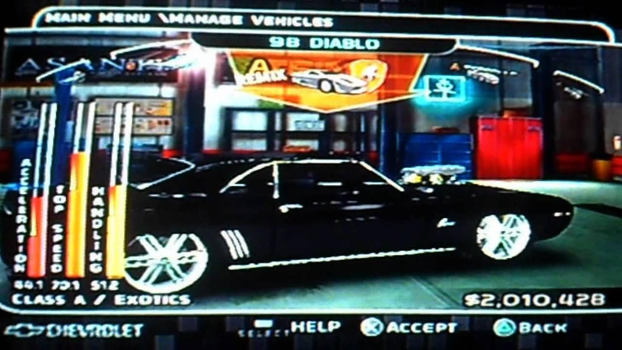 Midnight Club 3 Dub Edition My Cars Meus Carros Youtube