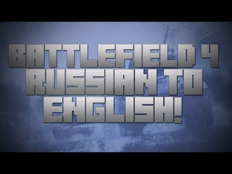 Battlefield 4 | How To Change Polish russian Language To English! [after 14th Nov Patch] video