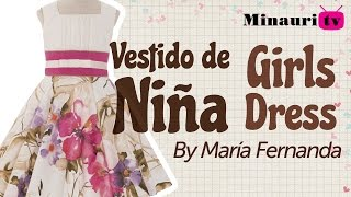 Girl Dress - Vestido Niña (MR17)  - Vestito Bambina - Robe Fille - Mädchen-Kleid