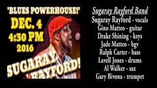 I'll Play The Blues For You - Sugaray Rayford Band - LIVE - musicUcansee.com