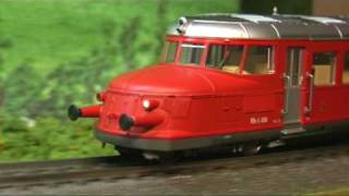 """Modellbahn-Neuheiten (121) Trix 22865 Schnelltriebwagen """"Roter Pfeil"""""""