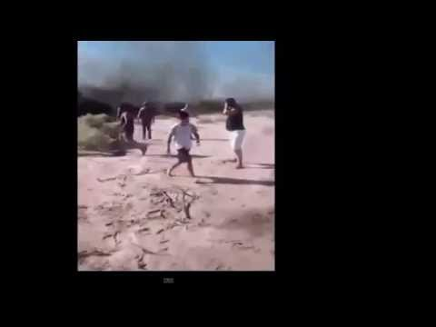 RAW VIDEO: Moments After 2 Helicopters Crashed in Argentina