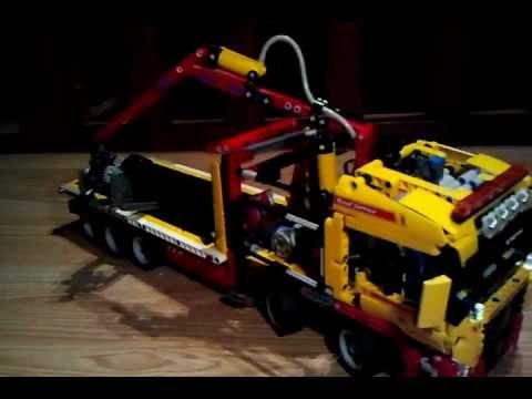 camion lego technic 8109 modifier youtube. Black Bedroom Furniture Sets. Home Design Ideas