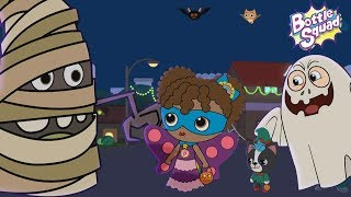 Its Halloween Night | Scary Rhymes For Kids | Bottle Squad Halloween Song | Kids Songs
