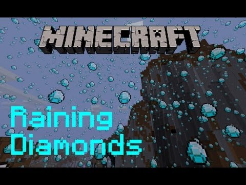 Minecraft: Raining Diamonds: Update 1