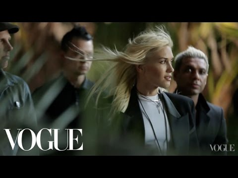 Behind the Scenes of Gwen Stefani's January Vogue Magazine 2013 Cover Shoot