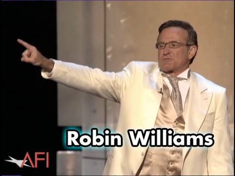 Robin Williams Kicks Off the AFI Life Achievement Award For Al Pacino