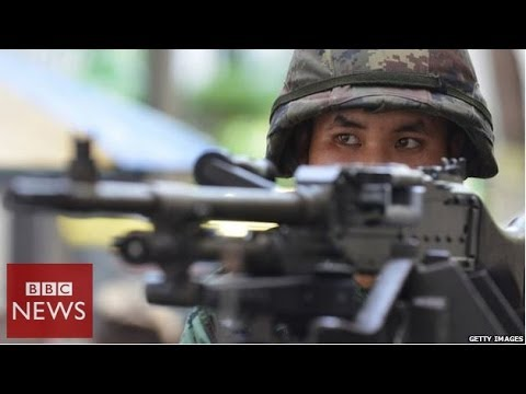 Thailand martial law crisis in 60 seconds - BBC News