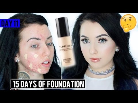 SEPHORA 10 HR Perfection FOUNDATION {First Impression Review & Demo!} 15 DAYS OF FOUNDATION
