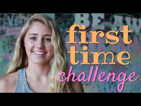 Lia Marie Johnson's First Time Challenge