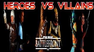 Heroes VS Villains Comeback Attempt - Star Wars Battlefront