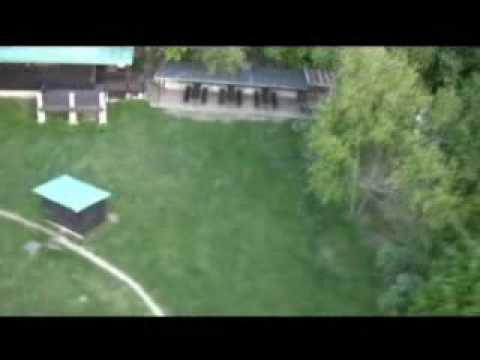 HD aerial video pan tilt autopilot model plane