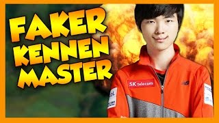 Faker Kennen Master - League of Legends