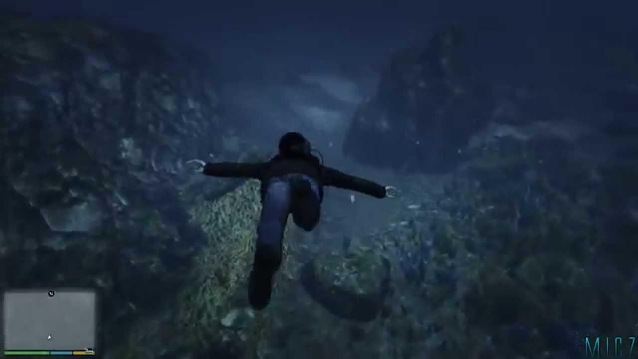 Misterios gta v ps4 el cad ver de una mujer ahogada en el fondo del mar tortura con - Fotos fondo del mar ...