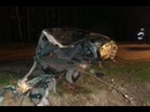 Tragiczny wypadek w Klamrach kolo Chełmna 7 osób nie żyje 2 osoby ranne