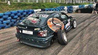 E36 328i Drift Crash