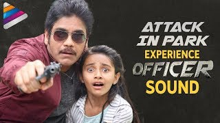 Attack in Park | Experience OFFICER Movie Sound | RGV | Nagarjuna | Myra Sareen | Telugu Filmnagar