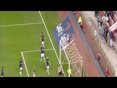 Goal Phillip Bardsley | Sunderland vs Manchester United 2 - 1 || Capital One Cup 7 1 2014