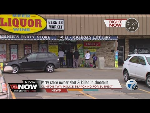 Store owner killed in Clinton Township robbery