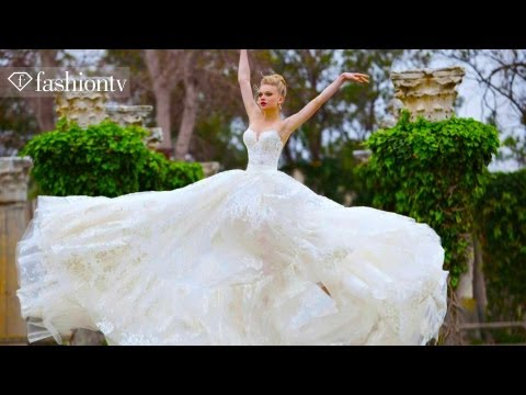 Simijan Wedding Dress Collection Photo Shoot 2013 | FashionTV