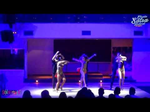 Fuerza Azteca Amateur Team Show  | 2.Chania Salsa Festival