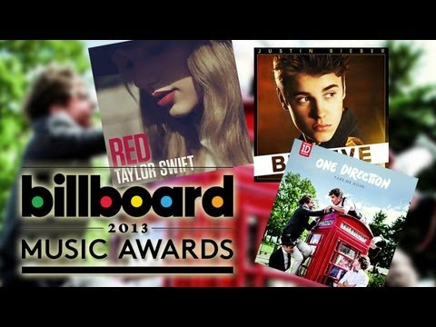 Justin Bieber vs One Direction vs Taylor Swift - 2013 Billboard Awards Nominations