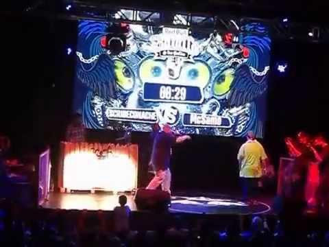 EscribeConAche vs Samo - Octavos - Red Bull Batalla De Los Gallos Chile 2014