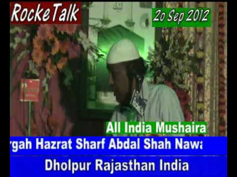 Khuch Natiya Sher By Rahat Indori Dholpur Mushaira 20 Sep 2012 Dholpur Rajasthan India video