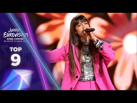 Junior Eurovision 2019 | MY TOP 9 (so far)