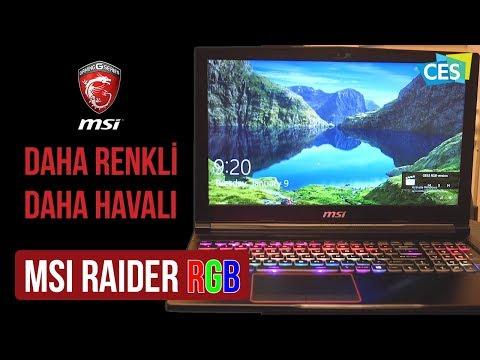 Daha renkli daha havalı: MSI Raider RGB