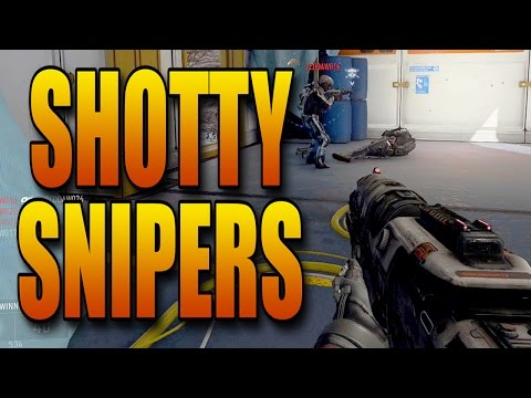 Advanced Warfare - Shotguns and Snipers Review! (Call of Duty Multiplayer Tips)