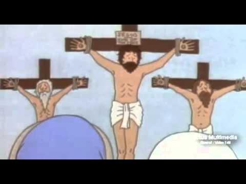 La primera Pascua - Dibujos Animados - Jesus para Niños
