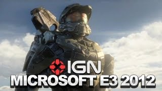 Full Microsoft E3 2012 Press Conference - Halo 4, Gears of War Judgment, SmartGlass, Kinect