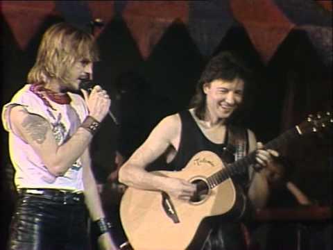 Renaud : La chetron sauvage  Concert  au Zenith 1986 82
