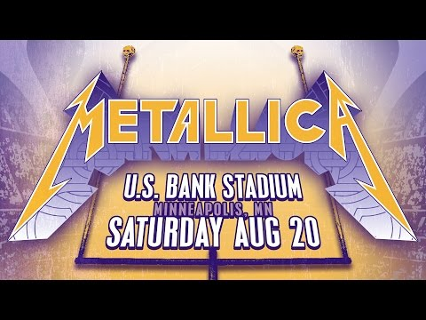 Metallica 8/20/16 Live at U.S. Bank Stadium - LiveMetallica.com